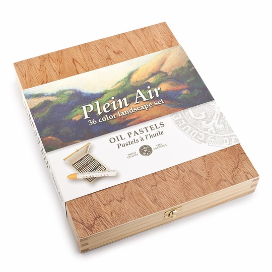 Sennelier Plein Air Oil Pastel Wood Box (Set of 36)