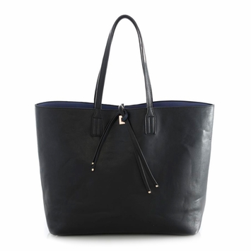Shiraleah Olivia Reversible Tote in Black