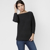 Six Ten Cotton Boatneck Sweater