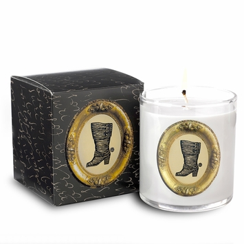 Soap and Paper Factory Patch NYC Soy Candle in Boot