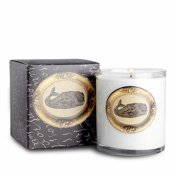 Soap and Paper Factory Patch NYC Soy Candle in Whale