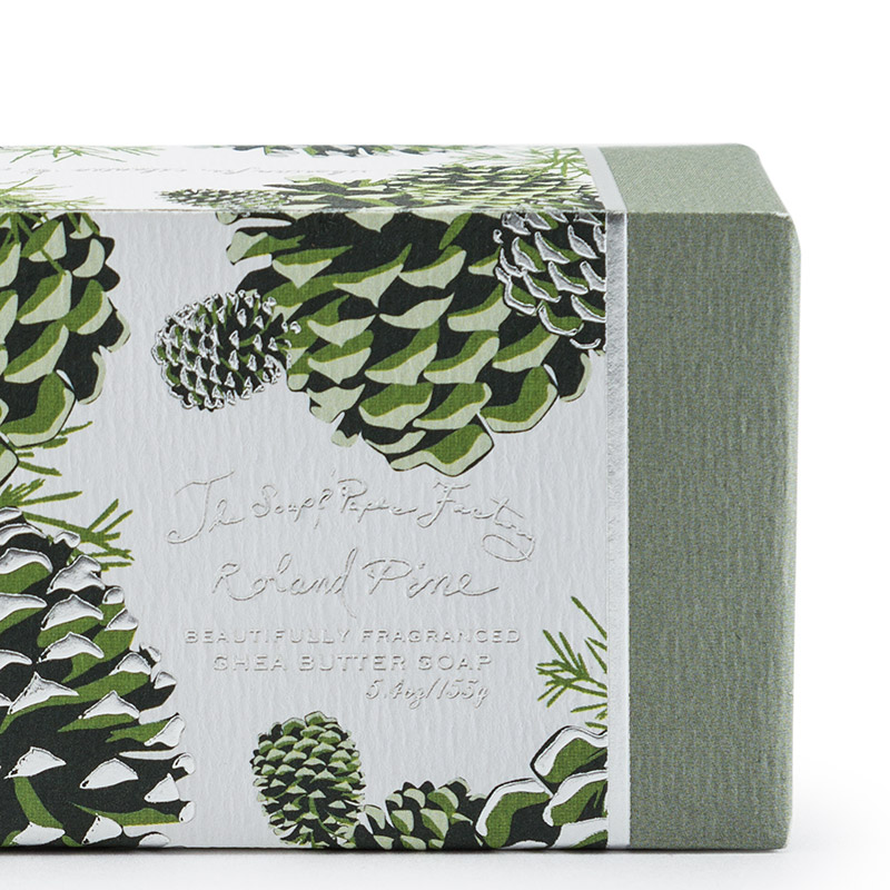 Soap And Paper Factory Roland Pine Shea Butter Soap
