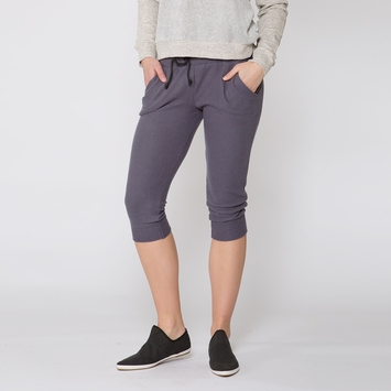 Solow Faux Cashmere Lounge Pant in Graphite