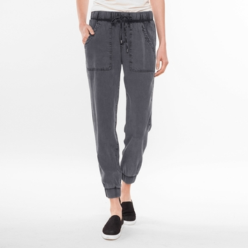 Splendid Studio Treatment Pant in River Rock Acid Wash