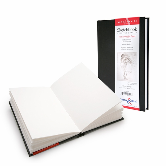 Stillman & Birn Alpha Hardbound Sketchbook (5.5 x 8.5)