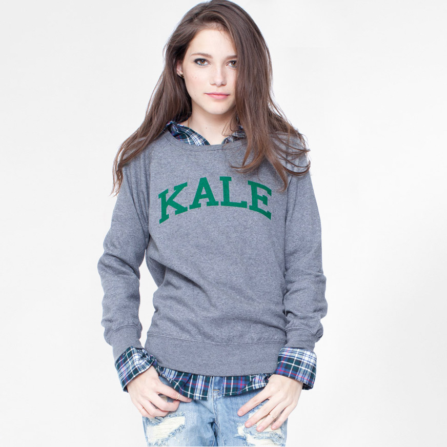 d084ed98 SALE / Sub Urban Riot Womens Kale Sweatshirt Womens Apparel at Vickerey