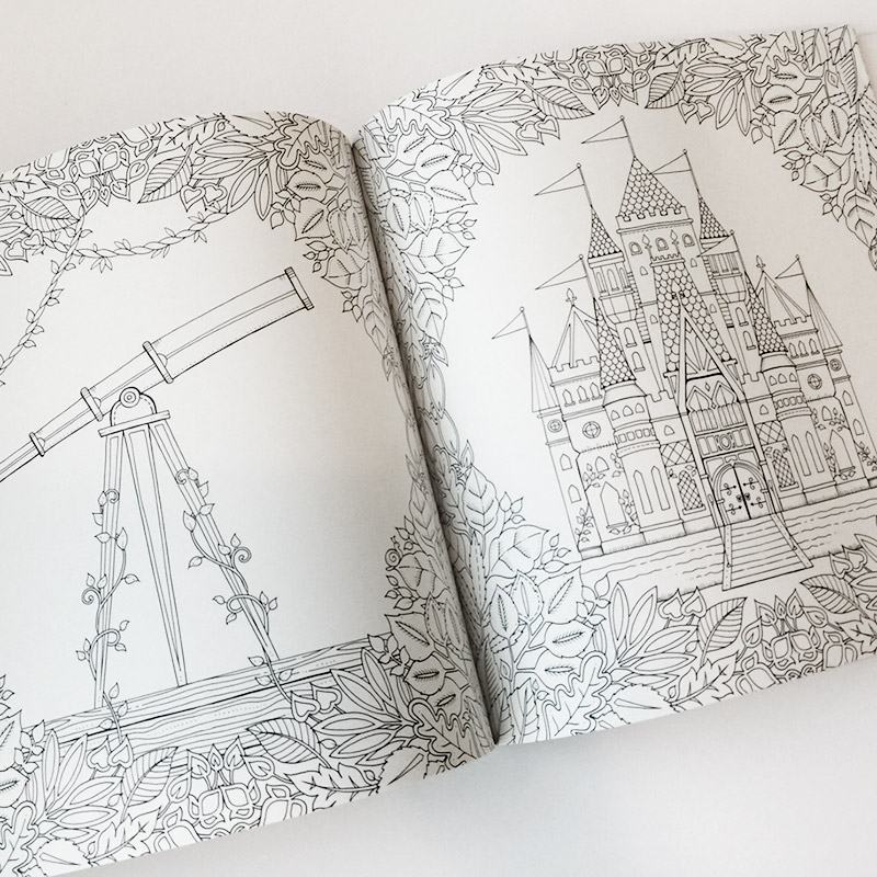 - The Enchanted Forest Coloring Book Eco Paper At Vickerey