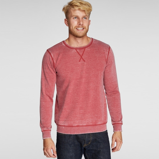 SALE / Threads 4 Thought Burnout Crew ( Biking Red )