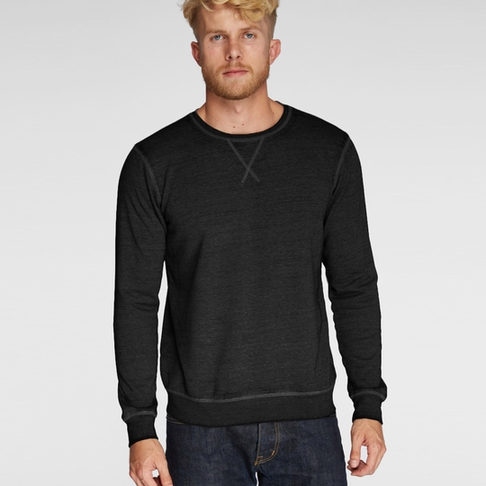 SALE / Threads 4 Thought Burnout Crew ( Black )