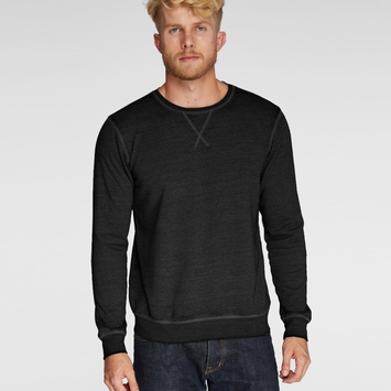 Organic SALE / Threads 4 Thought Burnout Crew in Black
