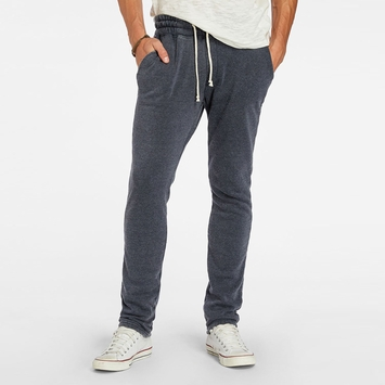 Organic SALE / Threads 4 Thought Burnout Fleece Pant in Blue Nights