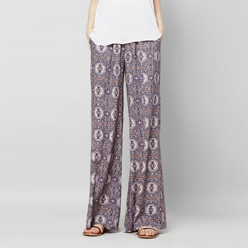 Three Eighty Two Edison Wide Leg Pant in Palais Print