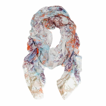 Tilo Scarf in Marbled
