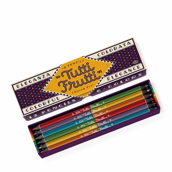 Tutti Frutti Colored Pencil Set