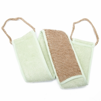 Bamboo Urban Spa Essentials Bamboo & Jute Back Scrubber