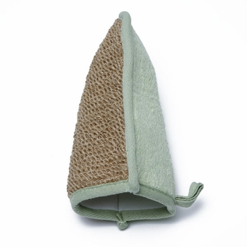 Bamboo Urban Spa Essentials Bamboo & Jute Bath Mitt