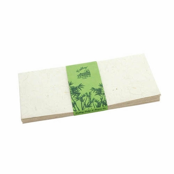 Valley Eco Pulp Envelopes (no. 10) in Bamboo