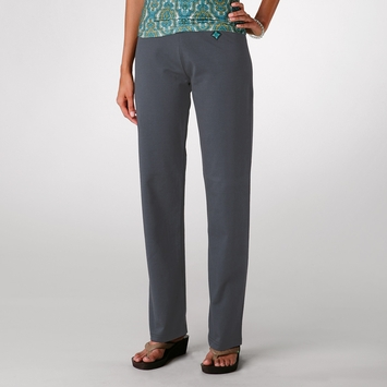 Verve Leda Pant TALL/LONG in Smoke Blue