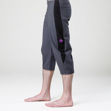 Organic Verve YoJimbo Pant in Smoke Blue / Black Panel