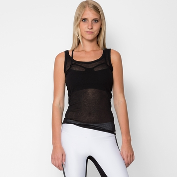 VPL B Layering Tank in Black