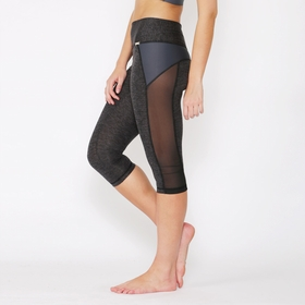 VPL X Curvature Capri in Charcoal Marl