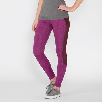 VPL X Curvature Legging in Eggplant Marl