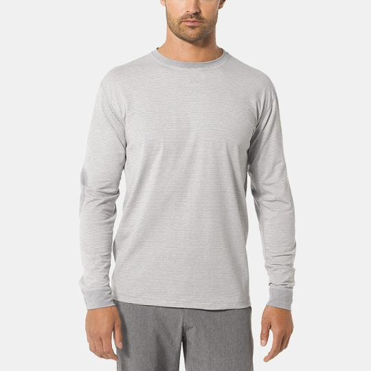 Vuori Ascent Long Sleeve Tee ( Natural )