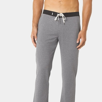 Vuori Cross Trainer Pant in Grey Heather