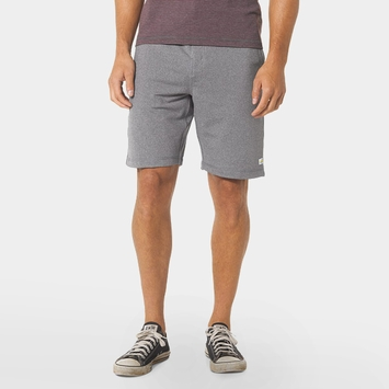 Vuori Cross Trainer Short in Grey Heather