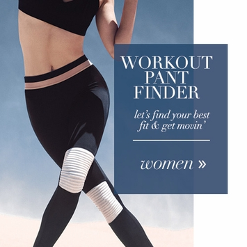 Women's Workout Pant Finder
