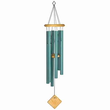 Woodstock Wind Chimes Encore Chimes of Earth in Verdigris