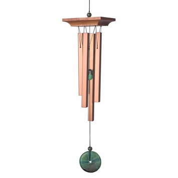 Woodstock Wind Chimes Turquoise Chime in Turquoise