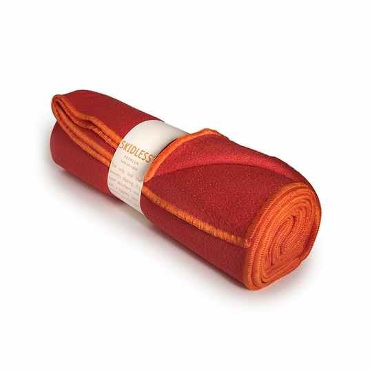 Yogitoes Skidless Yoga Towel ( Red (Root) )