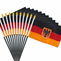 12 Pack of 4x6 Inch German Flag (12 Pack)