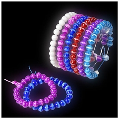 Assorted Power Bead Bracelet (12 Pack)