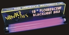 18'' Florecent Black Light Fixture with Bulb