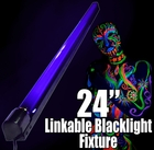 "24"" Linkable Fluorescent Party Blacklight"