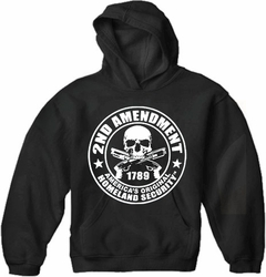 2nd Amendment Homeland Security Adult Hoodie