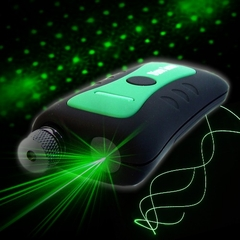 3 in 1 Handheld Light Show Green Spectrum Laser