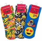 3 Pack of Assorted Emoji Low Cut Ankle Socks