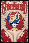 3D Grateful Dead 50th Anniversary Steal Your Face Tapestry 60 x 90""