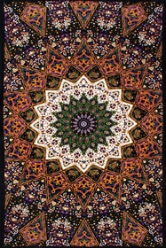 3D Indian Star Tapestry 60 x 90""
