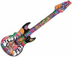 "42"" Groovy Inflatable Guitar"