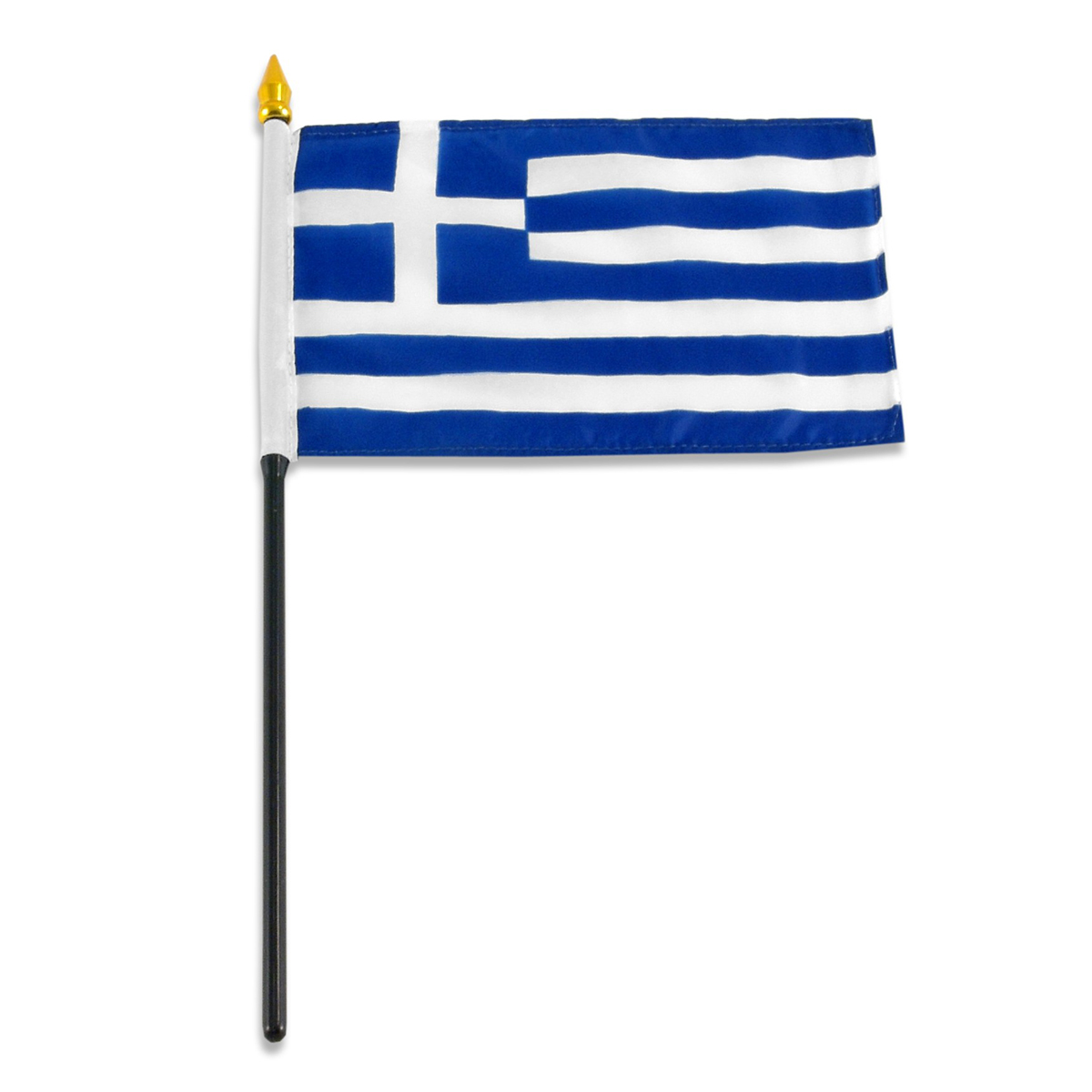 greek flag template - 4x6 inch greek flag