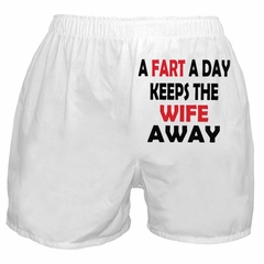 A Fart A Day Boxer Shorts