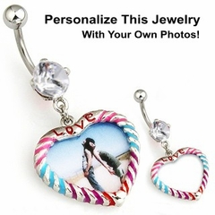 Navel Body Jewelry - Locket Navel Jewelry