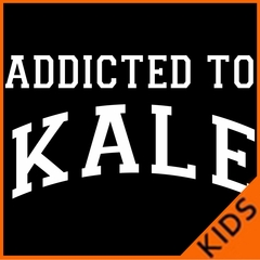 Addicted to Kale Kids T-shirt