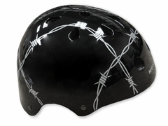 Adjustable Barbed Wire Skate Helmet