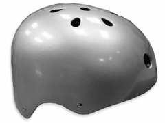 Adjustable Silver Flake Skate Helmet