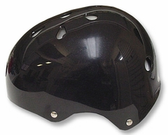 Adjustable Size Black Helmet